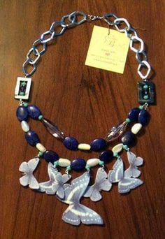 Collana farfalle necklace