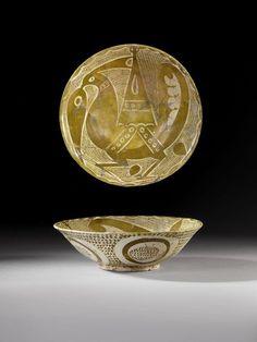Bowl, Iraq, 10th century, Abbasid Caliphate