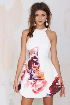 Keepsake To the End Floral Dress - Day | Going Out | Fit-n-Flare | Dresses | All | Clothes | Keepsake | Keepsake