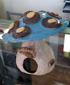 Mushroom House ... Great clay project for kids!