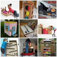 PicMonkey Collage cardboard crafts for kids part 2