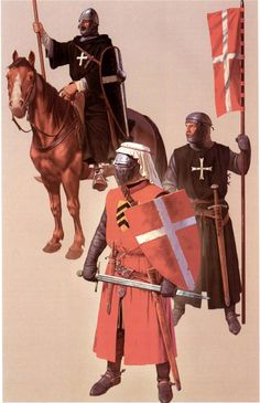 [WB][B] Crusader - Way to expiation Medieval Knight, Medieval Armor, Medieval Fantasy, Armadura Medieval, Knights Hospitaller, Knights Templar, Crusader Knight, Early Middle Ages, Dark Ages