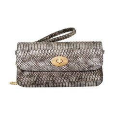 Women's Mellow World Layla Snakeskin Embossed Clutch Small ($24) ❤ liked on Polyvore featuring bags, handbags, clutches, black, party clutches, hand bags, travel crossbody, metallic clutches and travel purse crossbody