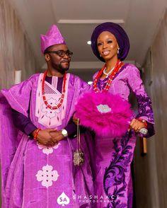 "NIGERIAN WEDDING on Instagram: ""SWIPE!!! Congrats @rachelmole_ 📸: @shashaace_photography  #nigerianwedding #yorubawedding"" African Outfits, African Fashion, African Wedding Attire, Traditional Wedding Attire, Yoruba Wedding, Nigerian Bride, Suit Shoes, African Beauty, Beautiful Bride"