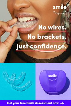 Get your dream smile for up to 60% less than braces or other invisible aligners. Click now to see how it works and get started with your free smile assessment today.
