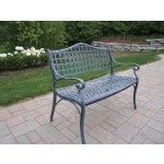 Oakland Living - Elite Cast Aluminum Settee Bench - 1103-VGY  SPECIAL PRICE: $283.00