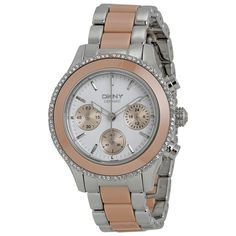 DKNY Women's Silver Analog Watch NY8824 ewatchesusa.com