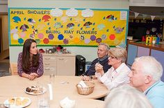 Compassion: Kate, who is patron of East Anglia's Children's Hospices (EACH), has made a private visit to the Treehouse hospice in Ipswich