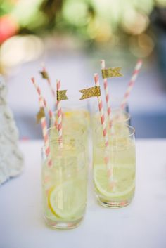 How cute are these lemonade cocktails: http://www.stylemepretty.com/california-weddings/2014/09/16/glamourous-palm-springs-wedding-at-the-parker-palm-springs/ | Photography: Mi Belle - http://mibelleinc.com/