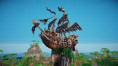 Tower of the Caribbean Minecraft World Save