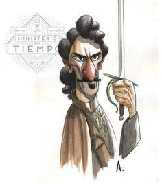 Alonso caricatura Fandoms, Alonso, Tv, Illustrations, Caricature, Television Set, Fandom, Television