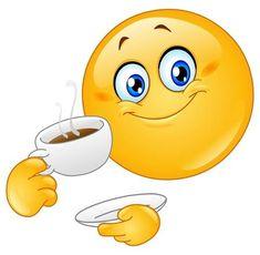 Time for a cuppa - Smiley Emotion - Bitmoji Animated Smiley Faces, Emoticon Faces, Funny Emoji Faces, Funny Emoticons, Love Smiley, Emoji Love, Smiley Emoji, Emoji Craft, Images Emoji