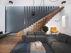 Treppen Designs mit effektvollen Stufen