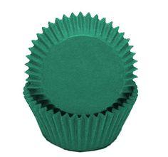 Standard Size Green Baking Cups
