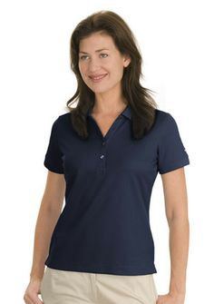 Nike Golf-Dri-FIT Classic Sport Shirt.Dri-FIT fabric technology delivers moisture management,the stitch-trimmed shoulder panels and gussets make a distinctive difference.Tailored for feminine fit with two-button Y-placket and rib knit cuffs.Pearlized buttons selected to complement the shirt color.The contrast Swoosh design trademark is embroidered on the left sleeve-Arizona Cap Company-480 661-0540 Custom Printed & Embroidered.Visit our website for the colors available and the price