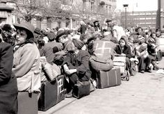 1945. The party is over. Sudeten Germans before the deportation.