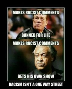 Racism Is Not A One Way Street.