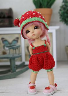 Strawberry Set  for pukifee /Lati yellow