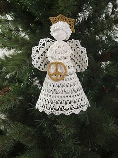 Ravelry: Peace Angel pattern by Susan Lowman