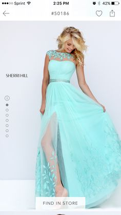 Love this colour and the dress
