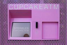 Cupcake ATM Prepares for Sweet Withdrawals Sprinkle Cupcakes, Upper East Side, Sweet Treats, Geek Stuff, Entertaining, Concept Stores, Frame, York, Manhattan