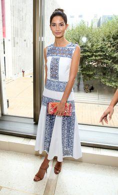 Lily Aldridge - vogue.com - 10 Best Dressed: Week of 9.15.14