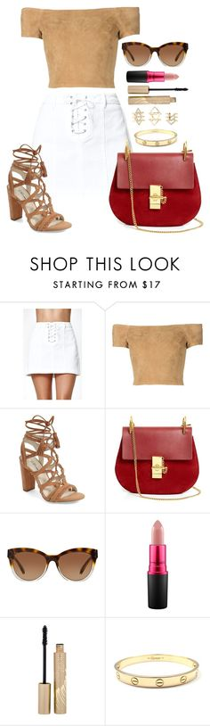 """""""Untitled #1558"""" by fabianarveloc on Polyvore featuring Kendall + Kylie, Alice + Olivia, BCBGeneration, Chloé, Michael Kors, MAC Cosmetics, Stila and Charlotte Russe"""