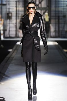 Dsquared2 Fall 2010 Ready-to-Wear Fashion Show - Ksenia Kahnovich