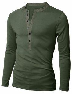 Doublju Mens Henley T-shirts with Long Sleeve KHAKI (US-M) Doublju,http://www.amazon.com/dp/B004VPDAMK/ref=cm_sw_r_pi_dp_XYkgsb1W1Y8NCA49