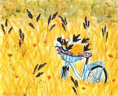 Bicycle in the field - Fairychamber