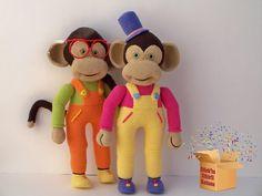 Amigurumi Monkey boy designer Dilek Gungor.