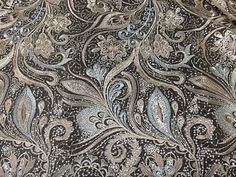 """... Gold Peacock Feather Embroidary Sequin Lace Fabric 50"""" 1 Yd 