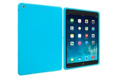 Standard Type Snap-on Soft Silicone Rubber Protective Cases for iPad Air | Lagoo Tech