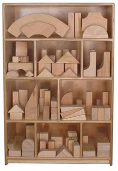 Wooden Blocks and Block Play Furniture