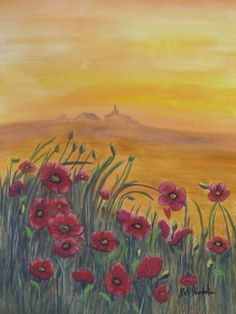 """""""Poppies"""" by Pat Poindexter"""