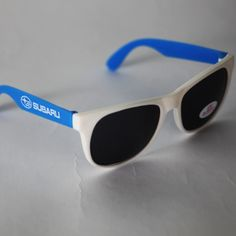 Is the glimmer and glow of ice and snow making your peepers weep crystalline tears of joy? Tone down the sun and turn up the fun with these genuine #Subaru Shades, which feature total UV protection!