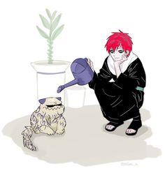Gaara and Shukaku