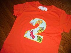 Toddler Boys Girls 2nd Second Birthday Gabba Inspired Birthday Shirt