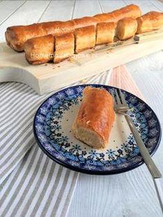 Banketstaaf met amandelspijs. Het recept voor deze zalige banketstaaf met amandelspijs staat op mijn blog Homemade by Joke.