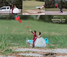 Wedding Photography - observing for useful tips on grabbing that stunning wedding photoshoot? Then check the charming pin link number 2363643974 now. Illusion Photography, Conceptual Photography, Creative Photography, Wedding Photography Tips, Couple Photography Poses, Photography Lessons, Manipulation Photography, Miniature Photography, Creative Shot
