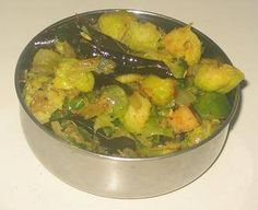 Brussels Sprouts Poriyal