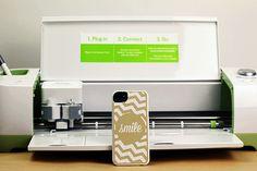 Cricut Explore to make iPhone case