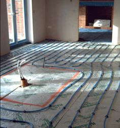 Radiant floor heating - and everything else you need to know about heating systems