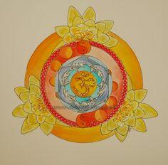 Mandalas and More: birthmandala Mandalas