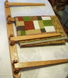 How To Build A Hanging Quilt Rack