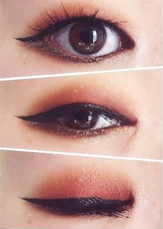 Korean makeup hacks, When wanting to improve your appearance, the most important. - - Korean makeup hacks, When wanting to improve your appearance, the most important things to bear in mind . Monolid Eyes, Monolid Makeup, Makeup Lipstick, Beauty Makeup, Hair Makeup, Eyelashes Makeup, False Eyelashes, Makeup Art, Korean Makeup Tips