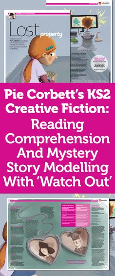 Pie Corbetts Creative Fiction Reading Comprehension And Mystery Story Modelling With Watch Out Talk 4 Writing, Teaching Writing, Start Writing, Teaching Ideas, Reading Activities, Literacy Activities, Pie Corbett, Growth Mindset Book, World Book Day Ideas