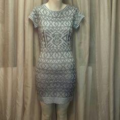 Nwot Knit Short Sleeve Dress