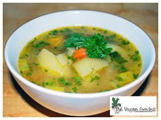 The Vegan Swedes: Traditional Soup