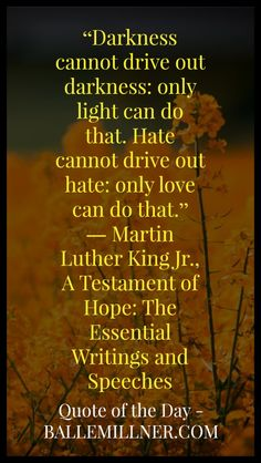 Quote of the Day: May 19th, 2016 #quote #quoteoftheday #martinlutherkingjr